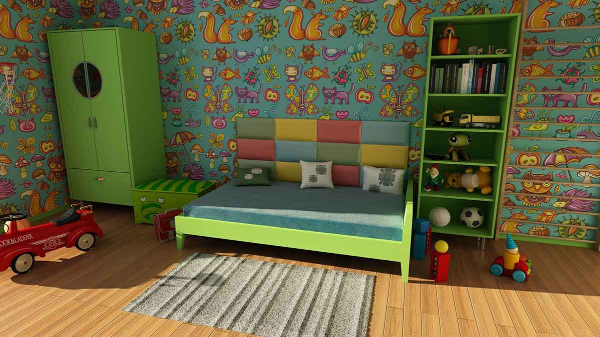 Kinderzimmer Kinder Babys