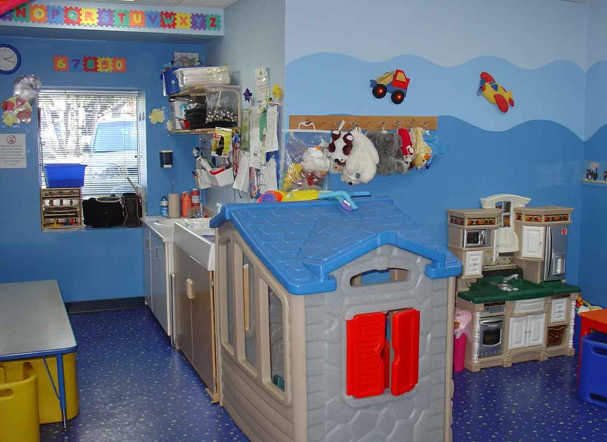 Kinderzimmer Wandmalereien Kinder Babys