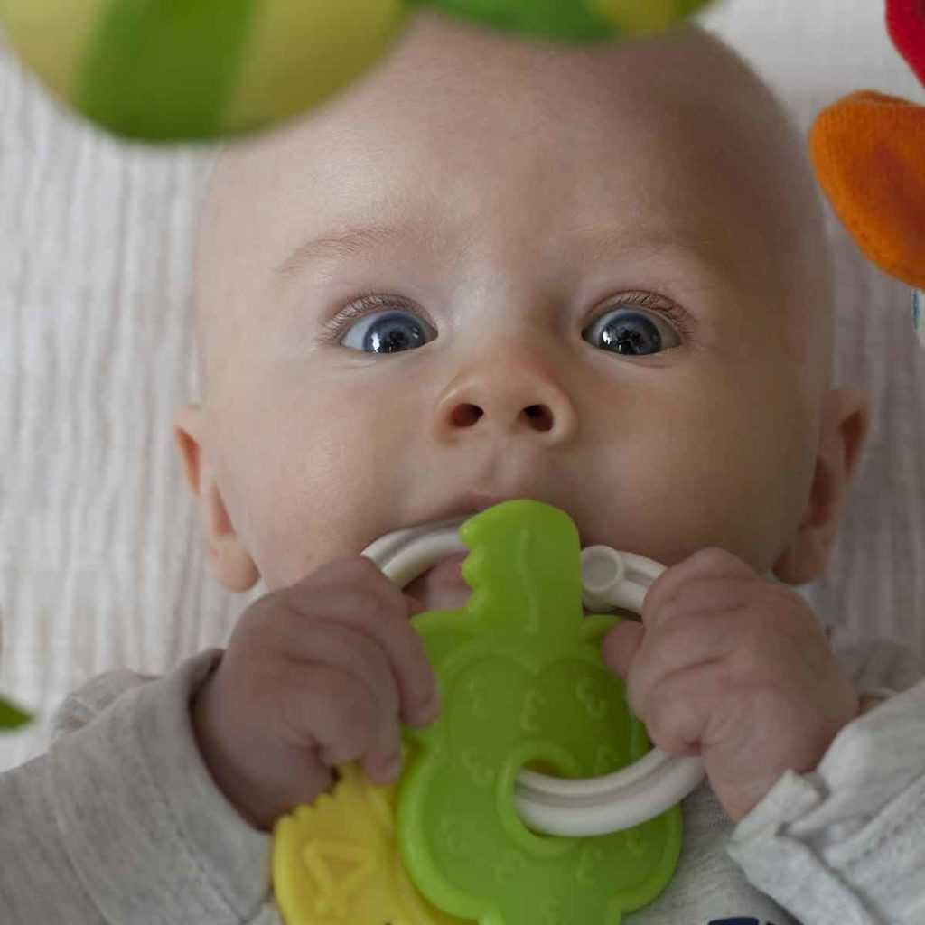 Spielzeug Greifspielzeug Greifling Baby Beißring