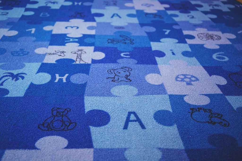 Kinderteppich Spielteppich Kinderzimmer